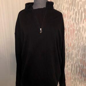 Oslo Men's Quarter Zip Black Fleece